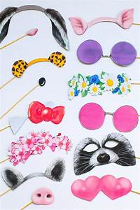 snapchat photo booth prop printables new filters