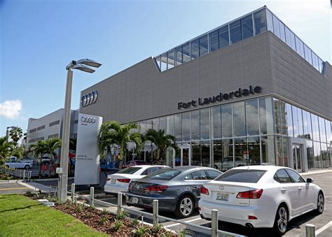 new audi dealership goes high tech in booming luxury car market sun sentinel