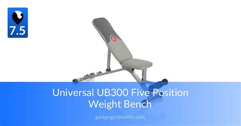 Universal Five Position Weight Bench by Five Position Bench The Best Of Universal Garage