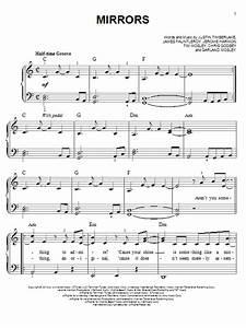 Mirrors Sheet Music By Justin Timberlake Easy Piano 150501