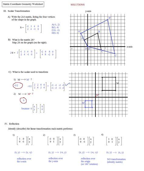 geometry dilations worksheet worksheets for all