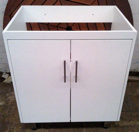 kitchen sink units for white vanity unit bathrooms and kitchens wood without sink 8556