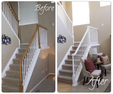painting a banister white best 25 staircase makeover ideas on stair