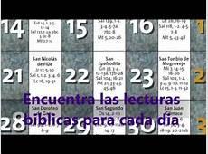 Calendario Biblico 2019 YouTube