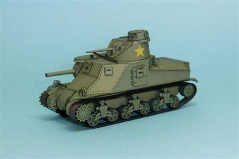 German and soviet organization in 1941. New Paper Craft WWII M3 Lee Medium Tank Free Paper Model Download at PaperCraftSquare.com