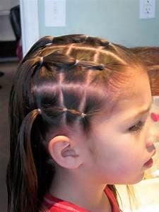 Coiffure Facile Pour Petite Fille : coiffure petite fille rapide coiffure simple et facile ~ Nature-et-papiers.com Idées de Décoration