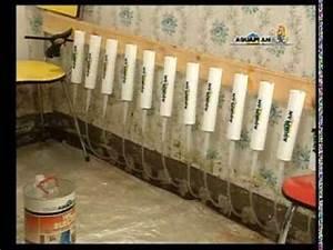 Étanchéité Mur Enterré Par L Intérieur : aquaplan murs injection youtube ~ Farleysfitness.com Idées de Décoration