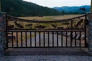 Metal Ranch Gate Designs