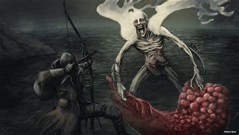 Orphan Art of Bloodborne Kos