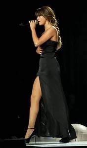 Selena Gomez Black Spaghetti Straps Satin Prom Dress ...