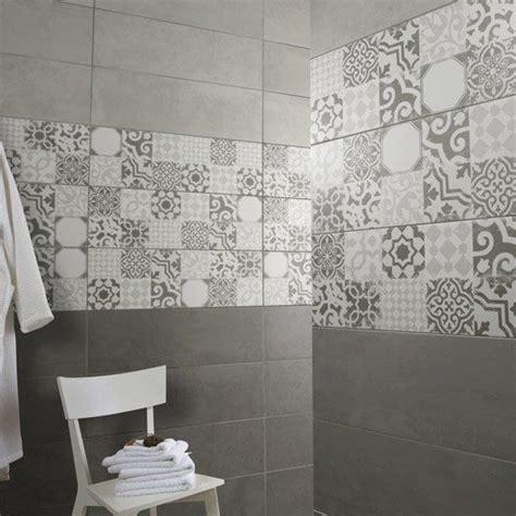 carrelage mural tadelak premium en fa 239 ence gris 25 x 75 cm salles de bain