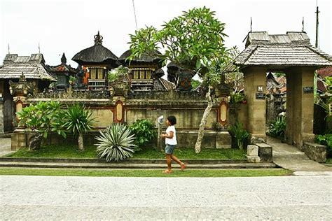 Rumah Adat Bali Adalah