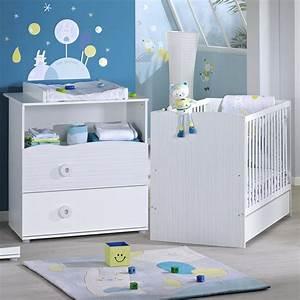 Meuble Chambre Bébé : chambre b b duo nino lit commode de sauthon meubles sur allob b ~ Teatrodelosmanantiales.com Idées de Décoration