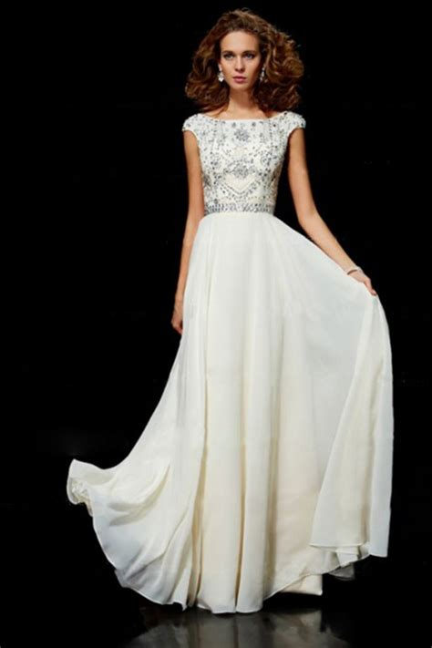 loading | Evening dress beaded, Modest bridesmaid dresses ...