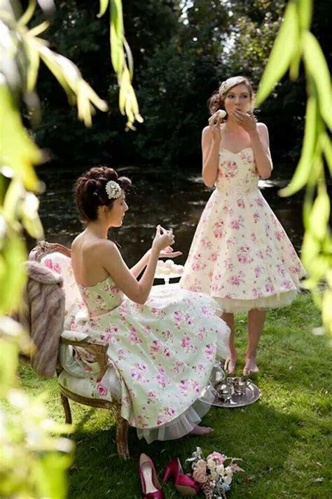 garden party  lovely rose cottage dresses pinterest