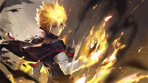 Anime Vire Boy Wallpaper - top 10 anime lead with superpower abilities
