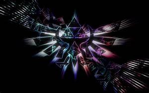 Triforce HD Wallpaper - WallpaperSafari