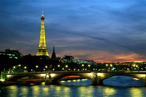 Paris Paris At Night Wallpaper