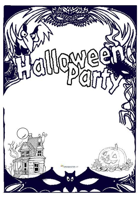 halloween disegni  bambini da colorare gratis