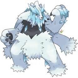 Beartic Mega Evolution Pokemon