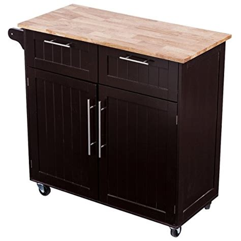 kitchen trolley cabinet giantex rolling kitchen cart on wheels cabinet storage 3392