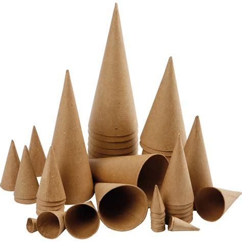 paper mache cones festive activities art  craft