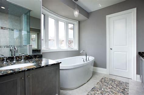 Gray Bathroom  Contemporary  Bathroom  Toronto By
