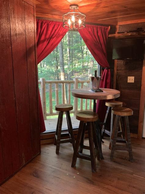 A magical hideaway, nestled deep in the woods. Road Trip: Stay in a Treehouse at The Mohicans Any Time of ...