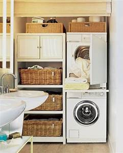 20 small laundry with bathroom combinations house design for Small laundry designs