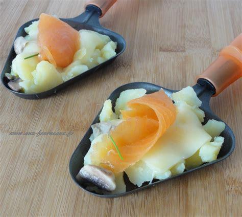 cuisiner du saumon raclette au saumon fumé aux fourneaux
