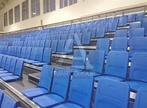 Cheap Telescopic Retractable Bleacher For Courts