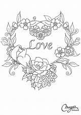 Embroidery Patterns Coloring Broderie Border Floral Dessin Heart Hearts Wreath Patrones Parchment Imprimer Word Bordados Bottom Corner Malvorlagen Motifs Flowers sketch template