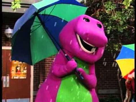 barney songs raindrops song youtubesing