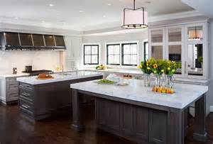 modern kitchen islands with seating kitchen with dual islands transitional kitchen