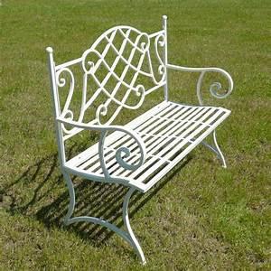 Banc En Fer : banc de jardin en fer forg tables chaises bancs ~ Preciouscoupons.com Idées de Décoration