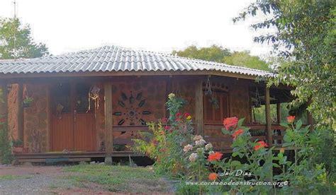 Cordwood In Brazil #2  Cordwood Construction