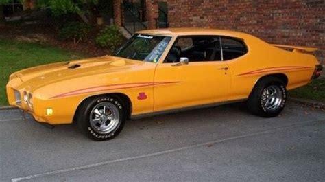 gto  orbit orange vintage muscle cars gto car