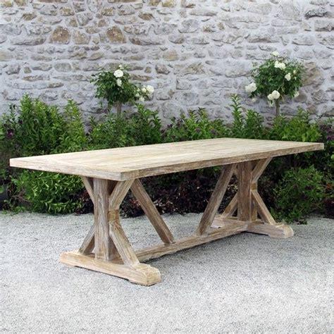 farmhouse teak table  teak outdoor furniture teak