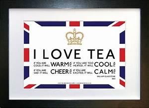 I love tea (ful... British Tea Quotes