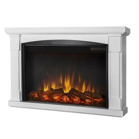 home depot electric fireplace real brighton 34 in slim line wall hung electric