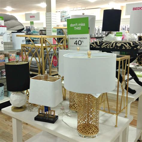 nicole miller table ls tracy 39 s notebook of style homegoods 40 store pics kate