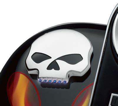 skull led fuel fuel gauges official harley davidson store