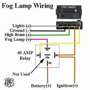 Fog Lamp Wiring Diagram : 88 98 fog light heavy duty relay harness for use with oem ~ A.2002-acura-tl-radio.info Haus und Dekorationen