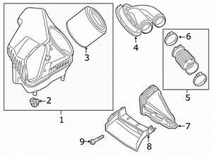 2017 Audi Rs7 Air Cleaner Cover  Engine Air Intake Hose
