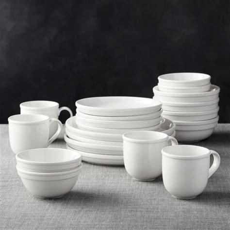 Cafeware II Dinnerware   Crate and Barrel