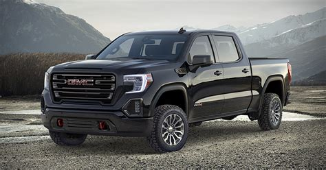 2019 Gmc 4 Cylinder by 2019 Gmc At4 Truck Hiconsumption