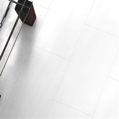 white tile effect laminate flooring falsetto white tile effect laminate flooring 2 m 178 pack departments diy at b q