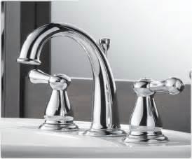 delta 3575lf leland two handle widespread lavatory faucet