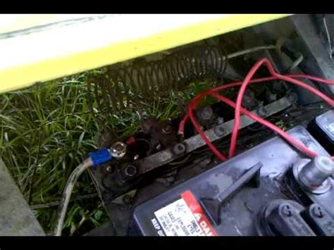 solenoid problem  clicking  club car golf cart