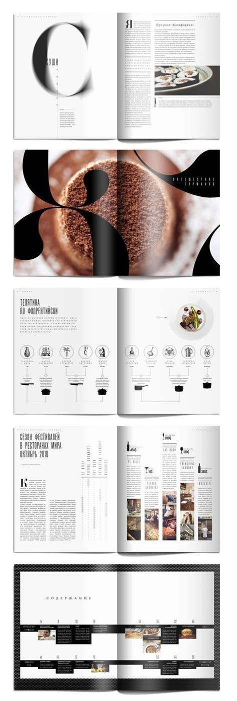 hierarchie cuisine editorial design food magazine editorial design
